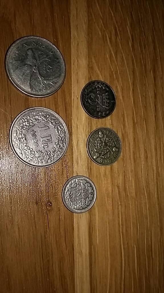 World/British silver coins