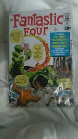 Fantastic four tin plate collectable
