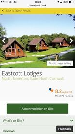 Holiday at Bude Eastcott lodges 12th June
