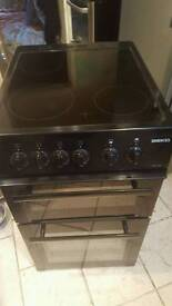 """Free delivery""ELECTRIC Black BEKO Ceramic Top Double Oven"" CLEAN CONDITION 99.98Offers Invited"