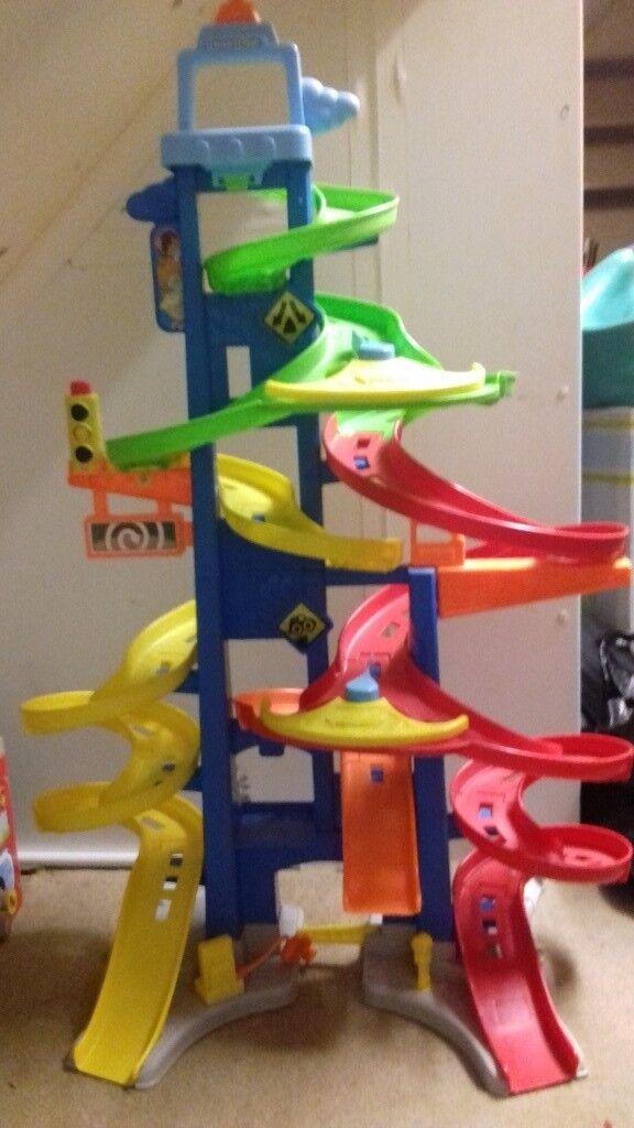 Childs car slide