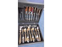 Viners 58 piece cutlery canteen