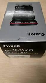 Canon EF 16-35mm f/2.8L mark ii USM