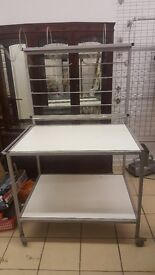 Industrial Work Bench Station Table for Garage / Packing / Sorting / Pick & Pack - Heavy Duty