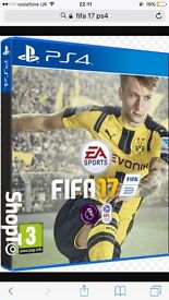 Fifa 2017 PS4. Brand New in Packaging