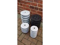 77.5kgs York weights - garage clear out - cheap!