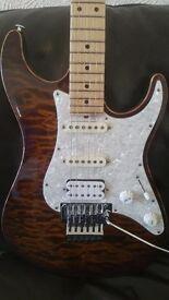 Suhr pro series guitar