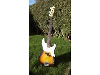 Fender MIM Mike Dirnt Precision bass guitar in immaculate condition