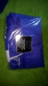 Blur curtains thermal backed brand new