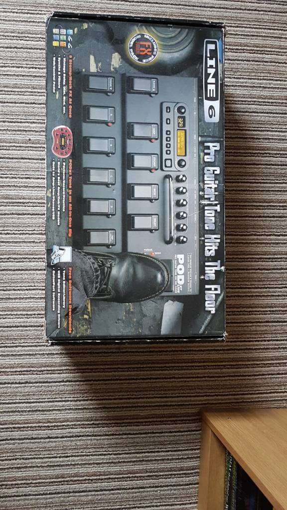 Pod XT Live Guitars Multi FX Pedal | in Stockton-on-Tees, County Durham |  Gumtree