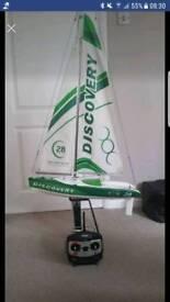 Remote Control sailing boat