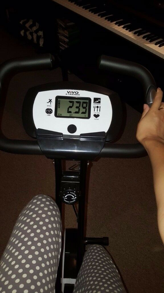 Vivo foldable exercise bike - RRP £78.99 - only 3 months old!