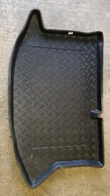 Boot Liner to suit Ford Fiesta Mk.7 2008-2013. Covers and protects the Boot Floor. Plastic.