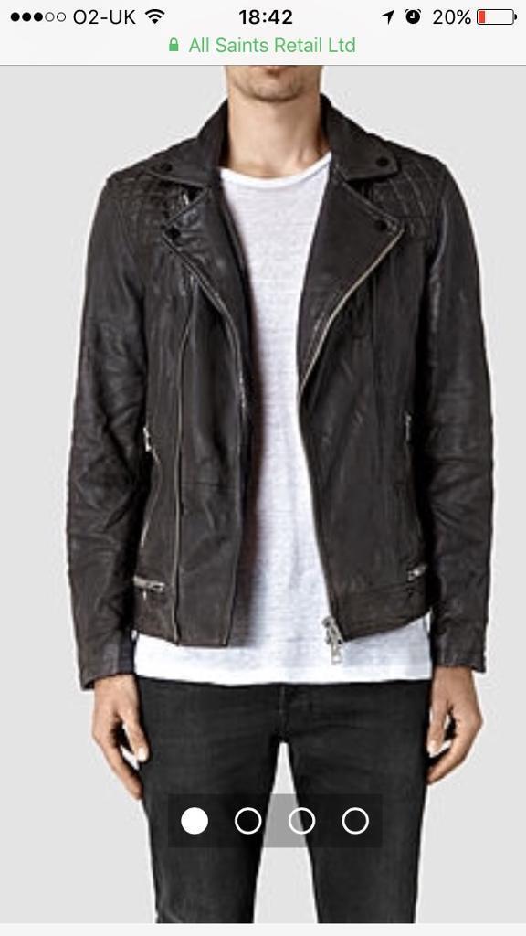 Conroy Allsaints Leather biker jacket