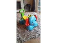 Fisher price 3 in 1 elephant bouncer