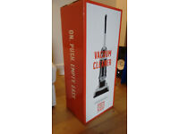 Never used, still in box Simple Value Bagless Upright Vacuum Cleaner - ARGOS