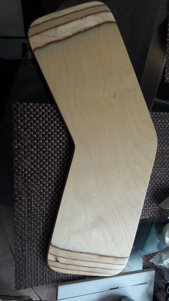 Banana wooden transfer board