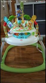 Fisher-Price Rainforest Friends Spacesave Jumperoo RRP:£ 84.99 In mother care as in photos