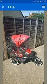 PHIL AND TEDS SPORTS DOUBLE PUSHCHAIR