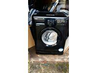 Washing machine black