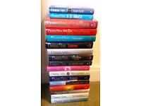 Set of 17 Danielle Steel Hard Back Books, all first editions in very good condition.