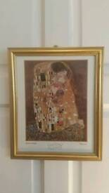 """""""THE KISS"""" PICTURE - BY GUSTAV KLIMT"""