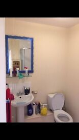 Spacious room to rent with en suite in shared bungalow in Oadby with parking