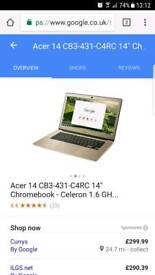 GOLDA acer chromebook