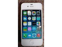 White Iphone 4s 8gb C grade on EE