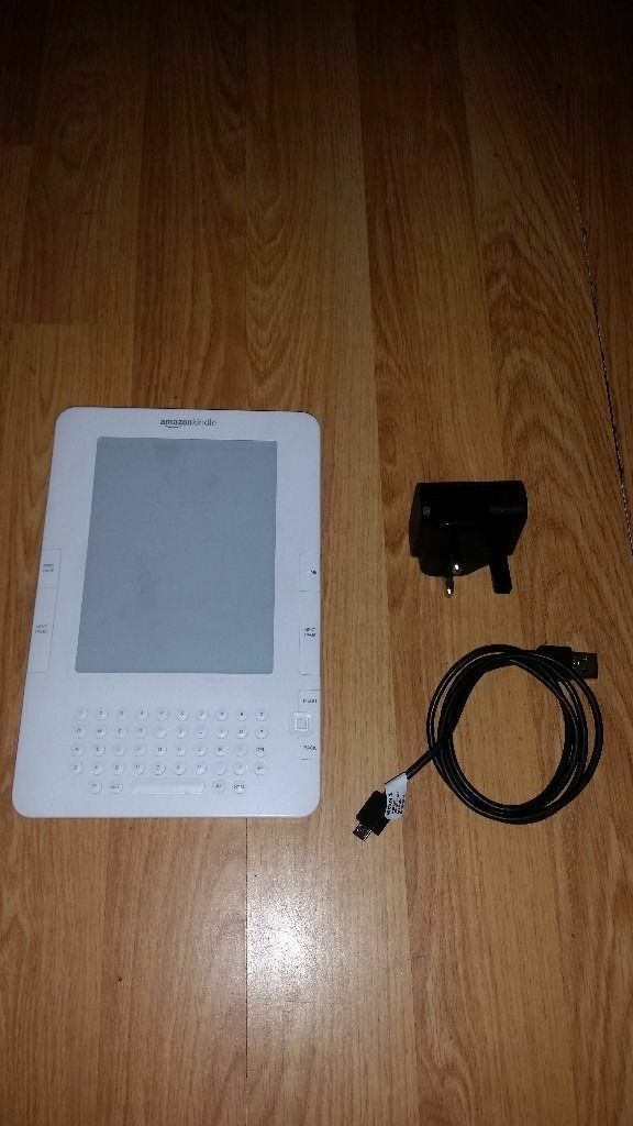 Amazon Kindle (2nd Generation), 6in - White