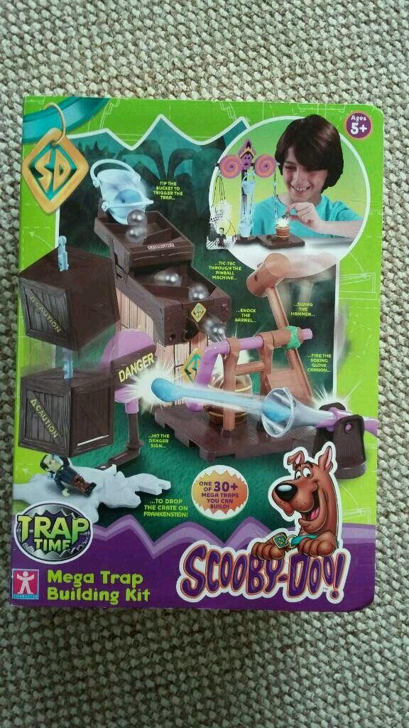 Scooby Doo trap building set