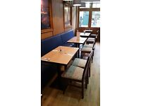 Resturant tables and chairs most new in box