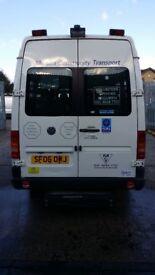 Volkwagen LT46 15 seat Wheelchair accessible minibus for sale