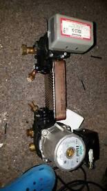 Isar hyrdoblock (pump/heat exchanger/ valve)