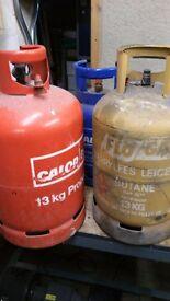 Calor gas bottles - various sizes (empty)
