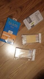 iphone 7 screen glass protector and case