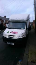 Iveco Luton not ford transit mercedes sprinter vw crafter Renault