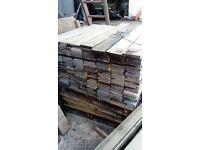 150mmx20mmx900mm untreated fence slats