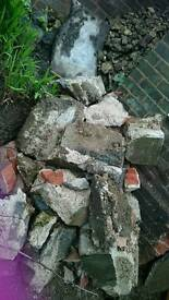 Freebies, Rubble, bricks, stones