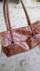 Leather Marks and Spencer handbag