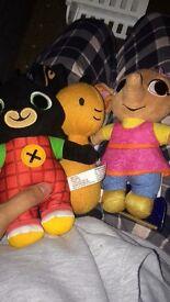 Bing bunny plush toys