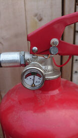 4kg Powder fire extinguisher, unused, great condition, up to two available.