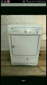 Zanussi condenser tumble dryer. Can deliver