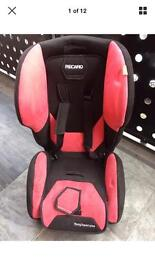 Recaro isofix baby car seat and base