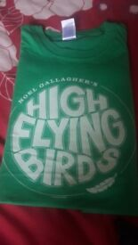 High flying birds t shirt . Size small