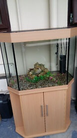 FISH TANK FOR SALE FULL SET UP IN PERFECT CONDITIONS