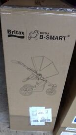 Britax B Smart 3 Pushchair and Carrycot brand new in box