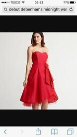 BLACK - Beautiful Evening Dress From Debenhams 16 - 18