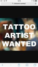 Tattooist wanted