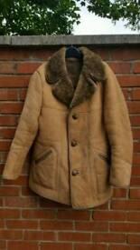 Real Sheepskin Coat (XL)